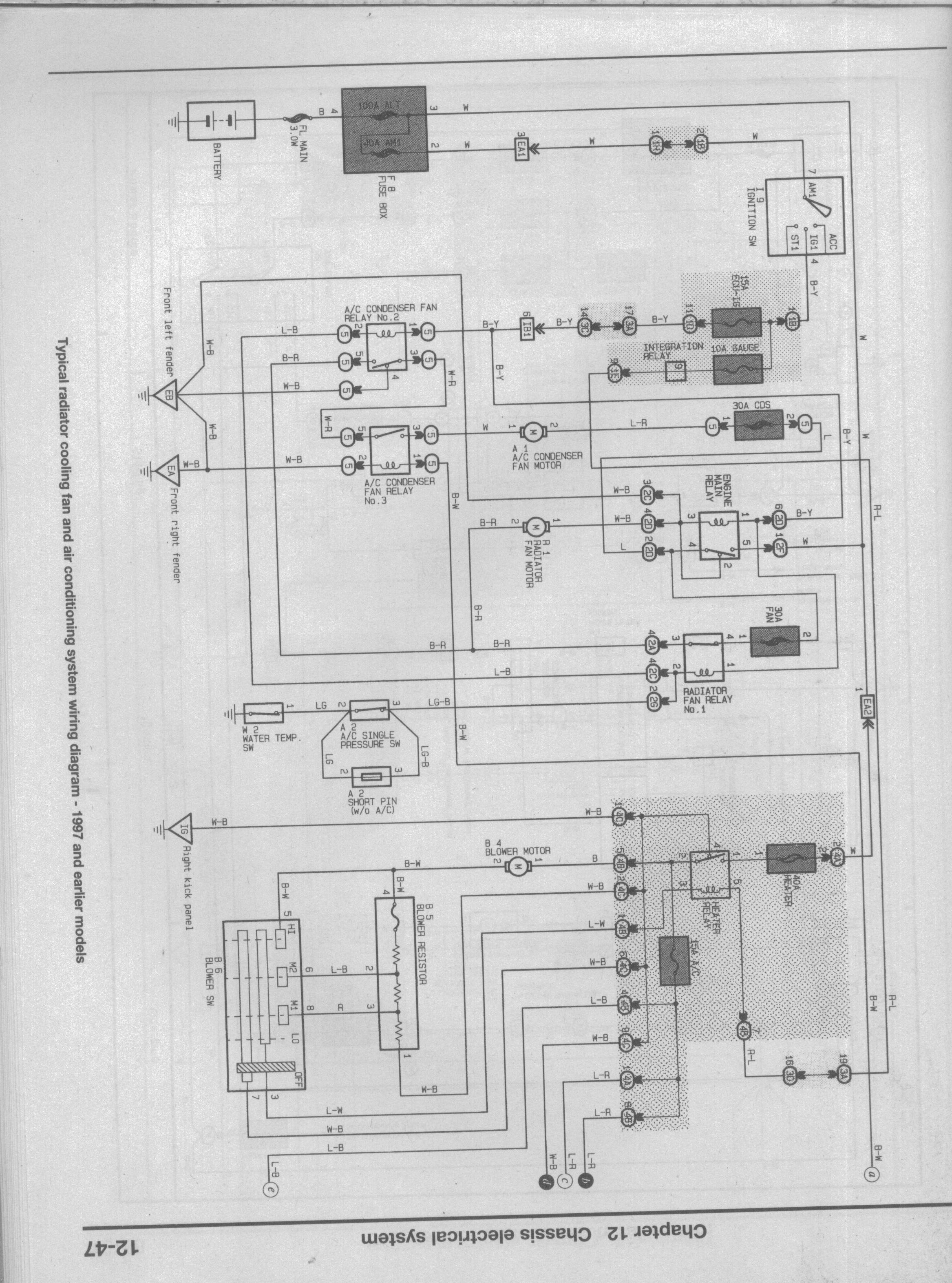 Air Conditioner Basic Car Ac Electrical Diagram