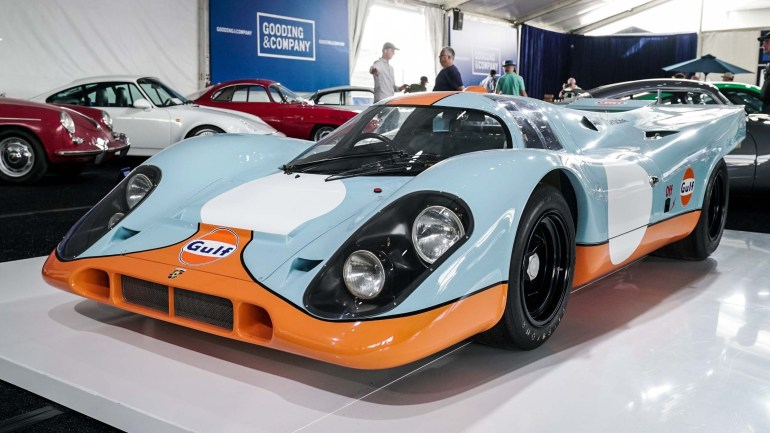 More than $325 Million Sold at 2017 Monterey Car Auctions