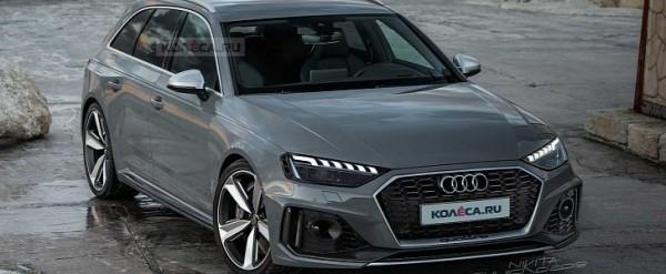 2020 Audi RS4 Avant Looks Good in Latest Rendering