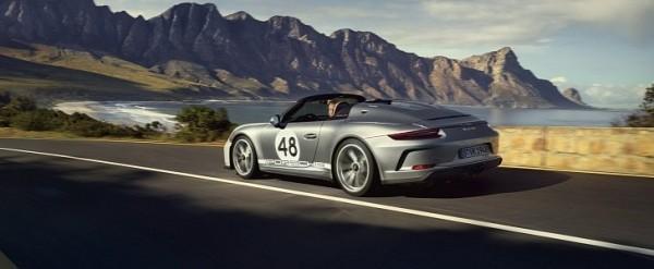 Porsche 911 Speedster Gets Even More Special With Heritage Design Package