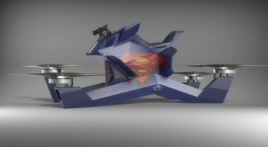 Hoversurf Hoverbike S3 - Drone Powered Individual Flying