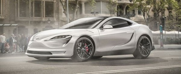 2020 Toyota Supra Rendered as Joint Venture With Ferrari, Tesla or Peugeot