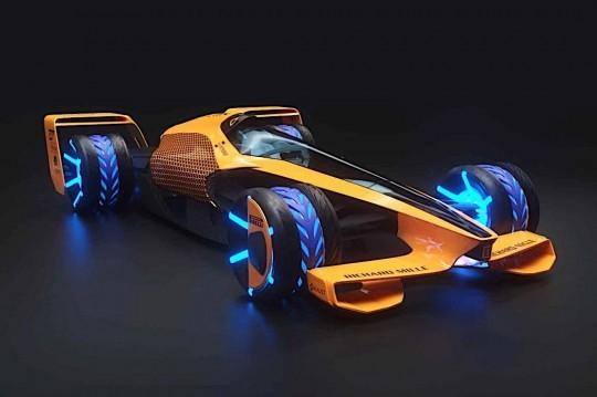 2050 Formula 1 Racing - The McLaren MCLExtreme