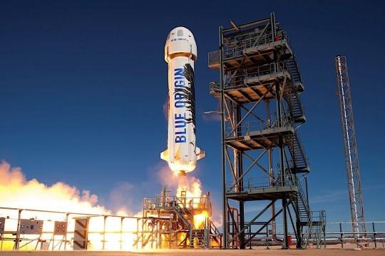 Blue Origin's Race to the Stars