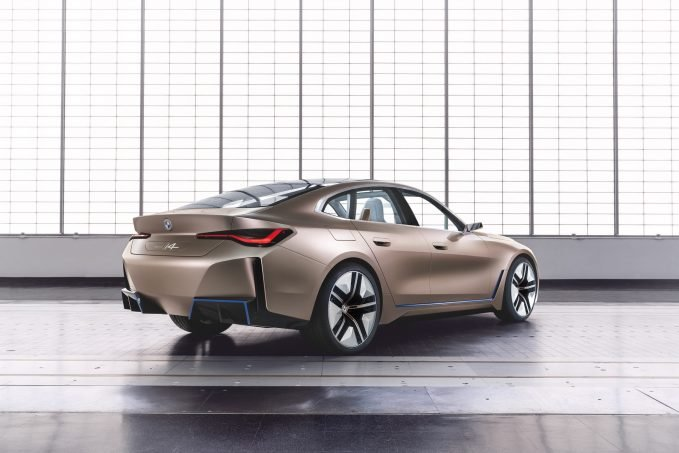 BMW i4 Concept Previews 523 HP Tesla Fighter Coming 2021