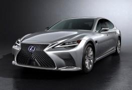 2021 Lexus LS Gets Tweaked Styling and Even More Comfort