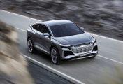 Audi Q4 Sportback e-tron Concept Has a Sexy Back and a 300 Mile Range