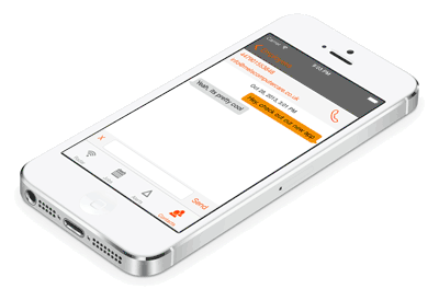 AutoAlert instant messaging on your iPhone or iPad