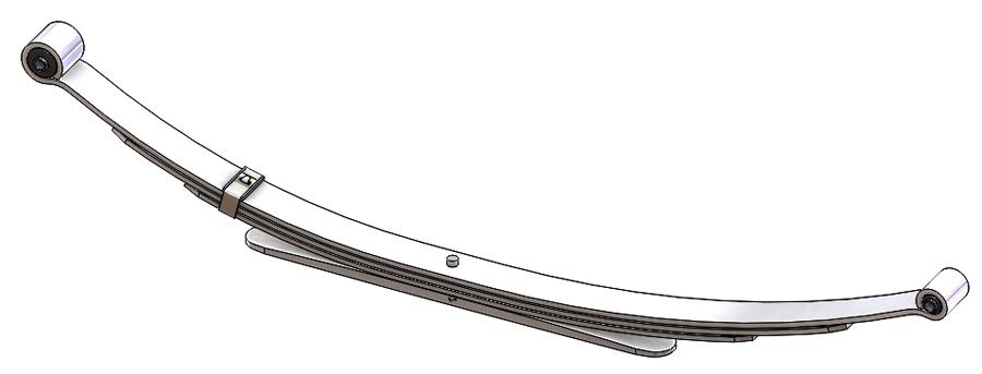 Ford Explorer Leaf Spring, REAR (Under Axle/Underswung