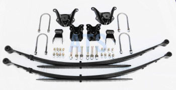 Ford RANGER Leaf Spring Assembly Kit, Complete INCLUDES 10