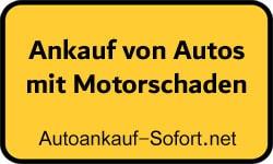 Ankauf von Autos mit Motorschaden