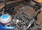 Der Motorraum des Audi A3 Sportback TCNG