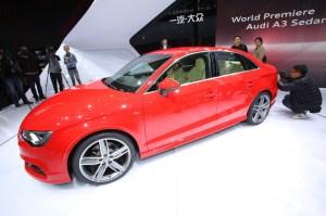 Audi A3 Limousine.  Foto:     Auto-Medienportal.Net/Manfred Zimmermann