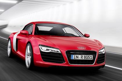 """Spitzenauszeichnung beim """"red dot award"""" 2013 für Audi R8. Foto: Audi/Auto-Reporter.NET"""