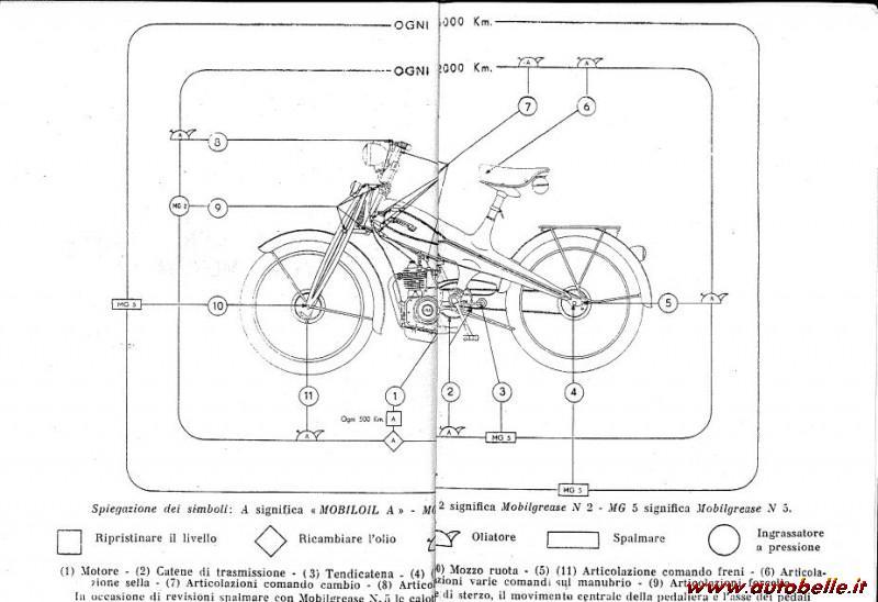 Vendo Istruzioni uso e manutenzione MOTOM 48