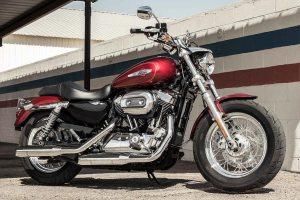 2017 HarleyDavidson 1200 Custom Velocity Red Sunglo   AUTOBICS