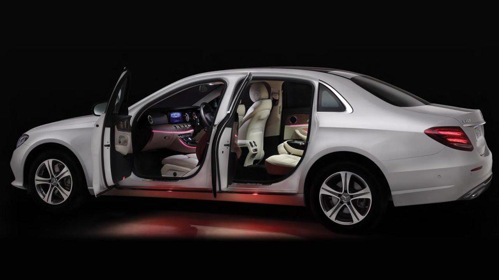 medium resolution of 2017 mercedes benz e class lwb india doors open