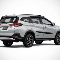 Toyota Yaris Trd Sportivo 2018 Price Roof Rail Grand New Avanza Veloz The All Rush Suv Unveiled In Indonesia