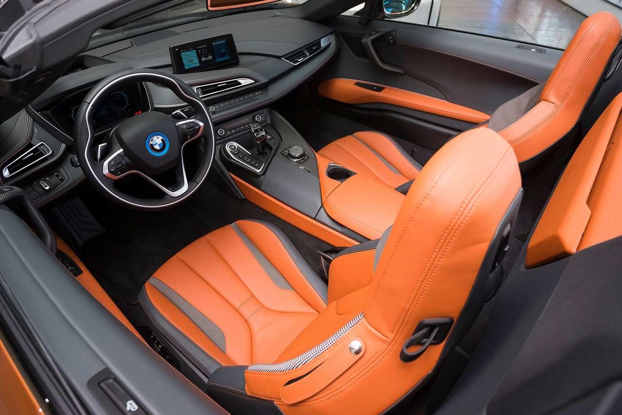 2018 BMW i8 Roadster Interior  AUTOBICS