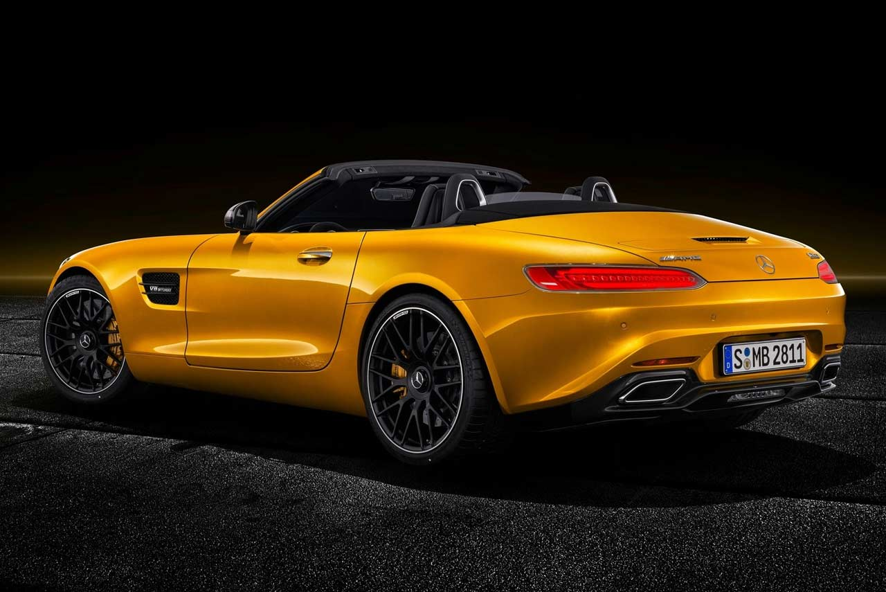 hight resolution of mercedes benz amg gt s roadster roof open 2019
