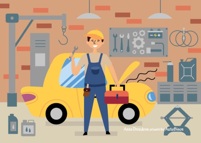 car dealership mechanic / technician