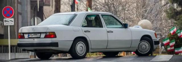 Iran Mercedes