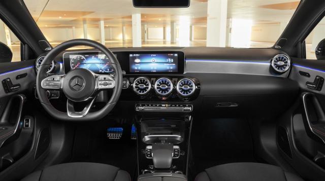 Die neue Mercedes-Benz A-Klasse Limo