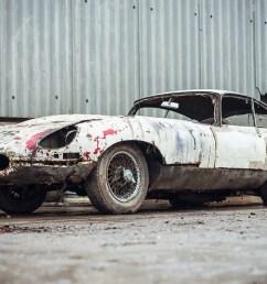 abandoned jaguar e type 1962 in auction 1 jpg  [ 1500 x 1001 Pixel ]