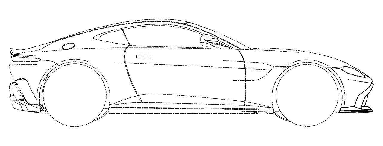 Διέρρευσαν τα σκίτσα της νέας Aston Martin Vantage