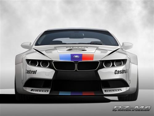 2009-bmw-rz-m6-by-racer-x-design-front-race