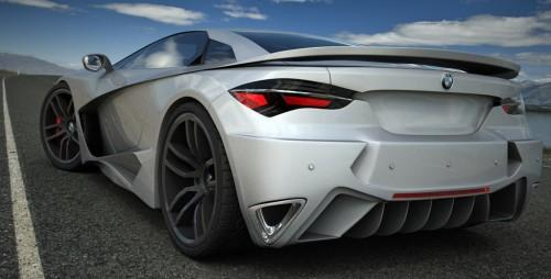 BMW 250tti Supercar Concept Study