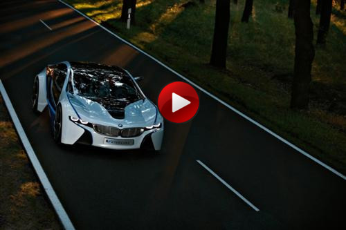 BMW Vision EfficienctDynamics Concept videos