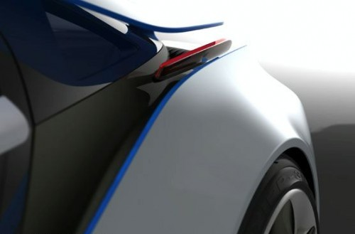 BMW Vision EfficientDynamics concept teaser
