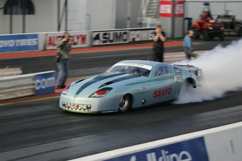 Nissan 350z Based Dragster with 1900hp