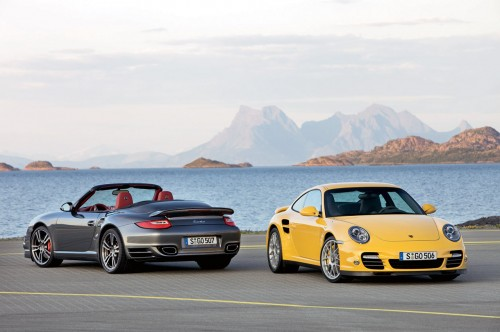 Porsche 997 911 Turbo Facelift