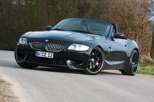 manhart racing bmw z4 v10 with 550hp