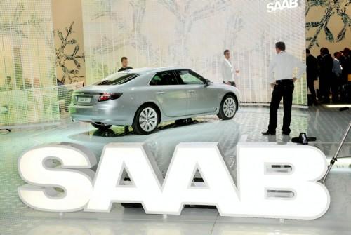 2010 Saab 9-5 live at frankfurt 2009