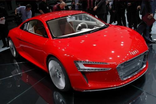 Audi R8 e-Tron Concept Live at Frankfurt 2009