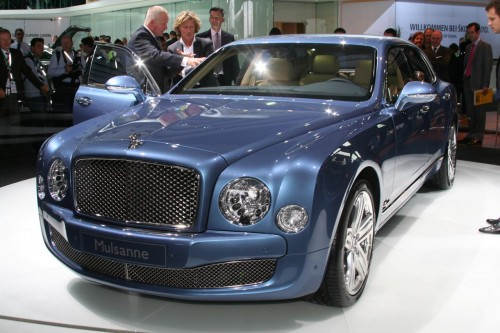 Bentley Mulsanne live at frankfurt 2009