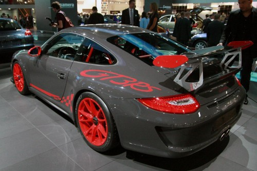 Porsche 911 GT3 RS Live at Frankfurt 2009