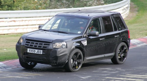 Range Rover LRX spy photo