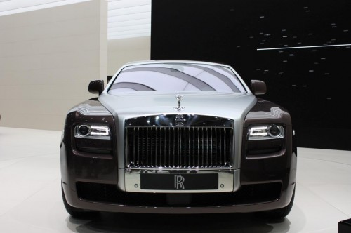 Rolls Royce Ghost Live at Frankfurt 2009