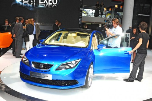 SEAT IBZ Sport Tourer Concept Live at IAA 2009