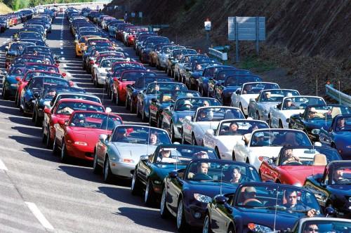 Mazda MX-5 20th Anniversary Meeting