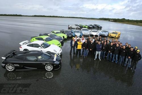 Sport Auto Super Sportcar Performance Test
