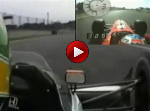 senna schumacher video