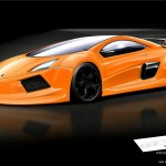 Lamborghini Concept artist rendering Active-Design and Sergio
