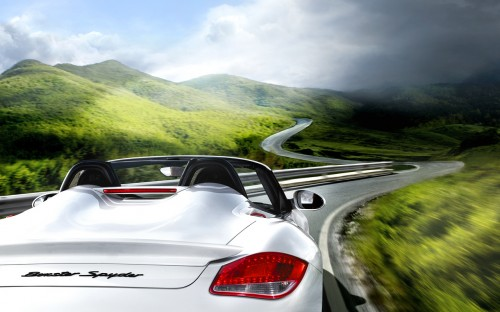 Porsche Boxster Spyder 2011 photo gallery