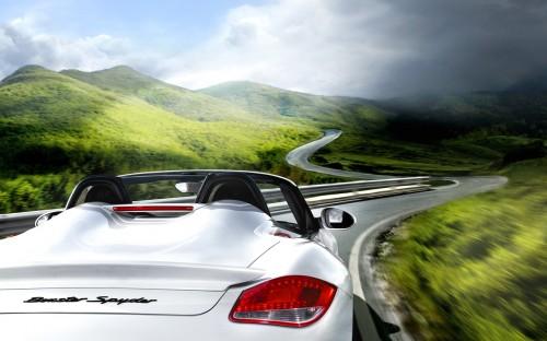 Porsche Boxster Spyder 2011 photo gallery