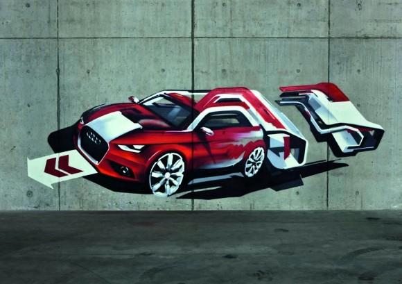 Audi A1 Street-art